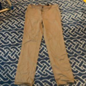 H&M men's khaki pants size 34R